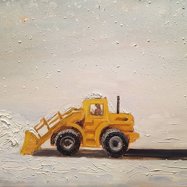 Plow in Winter
