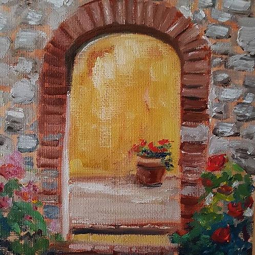 Entrance to the Garden at San Fedele