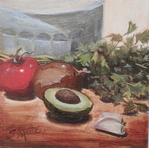 Cilantro, Tomato, Onion and Avocado