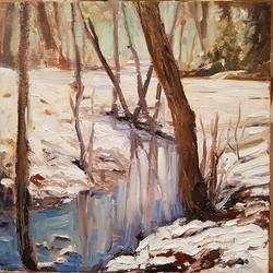 Blythwood Ravine Park in Winter