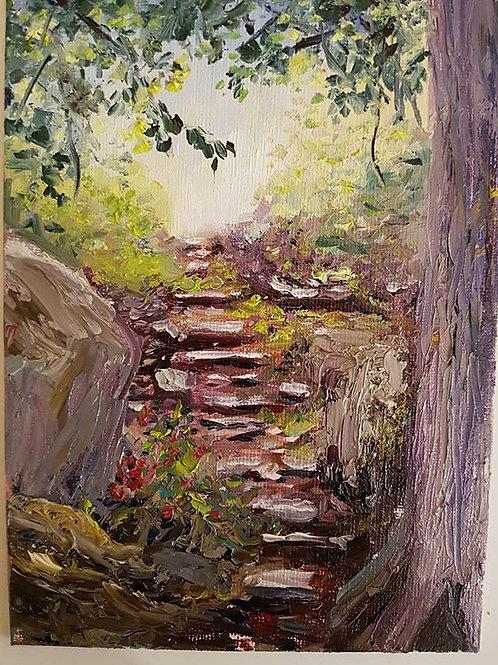 Steps to Niagara Gorge