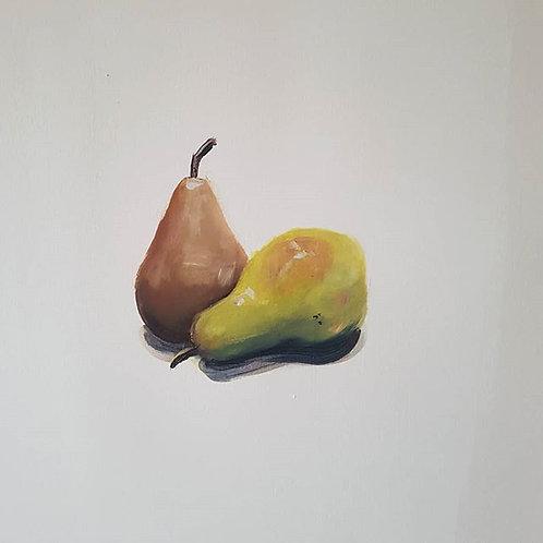 Pear Study Post Card