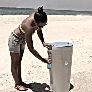 Cold Water Drinking Fountain
