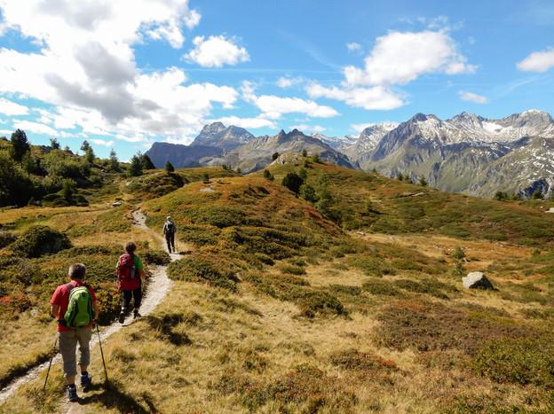 Wandern im Engadin