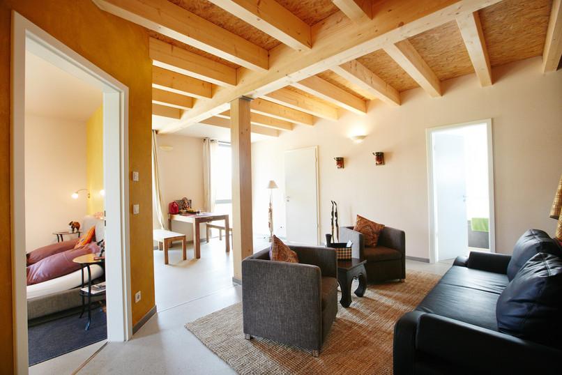 Landgut Schönwalde Indien Lounge