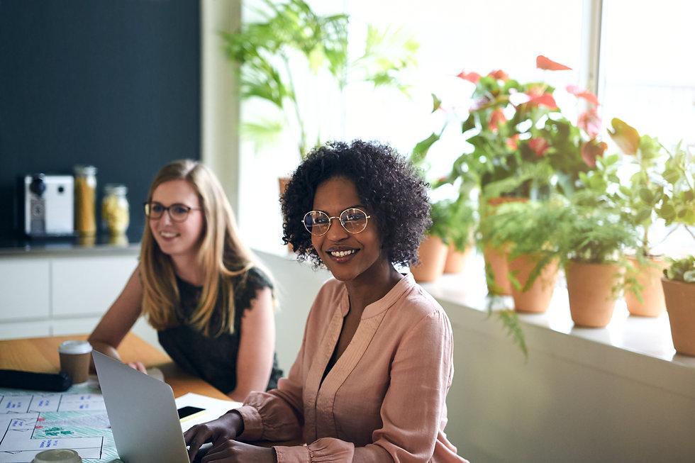 confident-african-businesswoman-working-