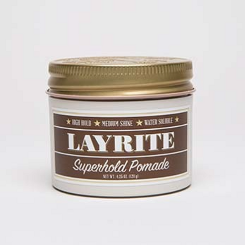 Layrite Superhold Pomade 4.25 oz
