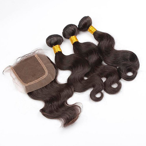 Bundle Deal - 3 Bundles + Closure