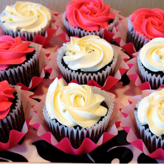 Chocolate Cupcakes - Valentines Day Theme