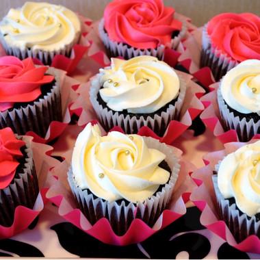 Chocolate Cupcakes - Valentines Day Theme