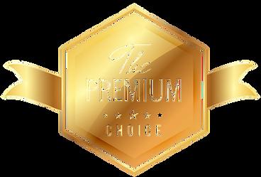 The Premium Choice Ribbon Tag