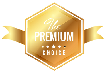 The Premium Choice Ribbon Tag