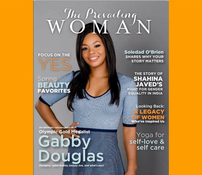 Check out the Spring Beauty Favorites in the debut issue of The Prevailing Woman Magazine!