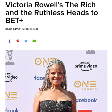 Victoria Rowell's The Rich and the Ruthless Heads to BET+