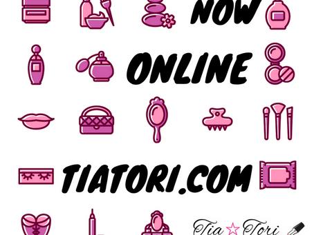 TiaTori.com now LIVE