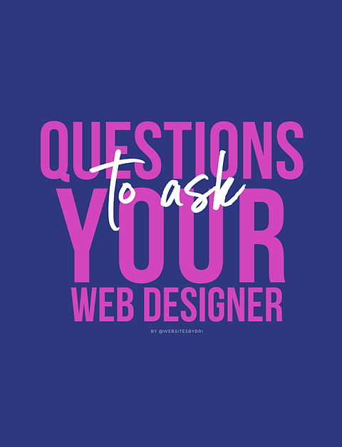 10 Questions to Ask A Website Designer