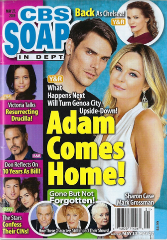 COVER: CBS Soap Opera In Depth