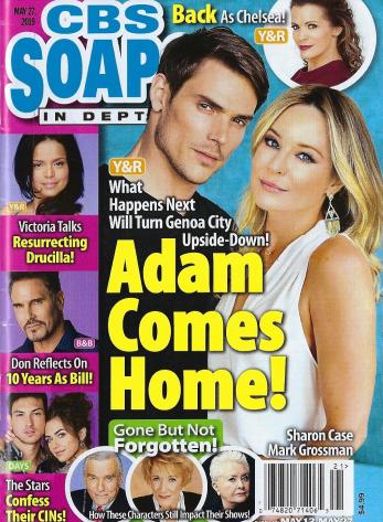 COVER: CBS Soap Opera In Depth
