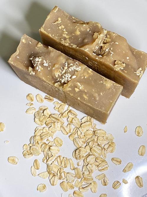 Oatmeal, Wildflower Honey Goat Milk Soap