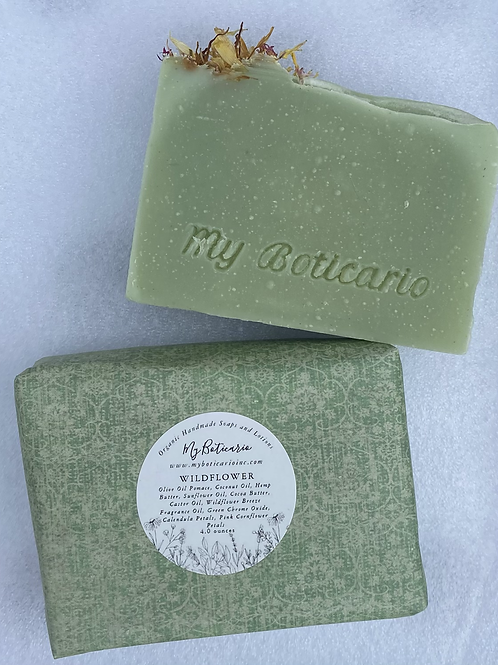 Wildflower Organic Face and Body Soap