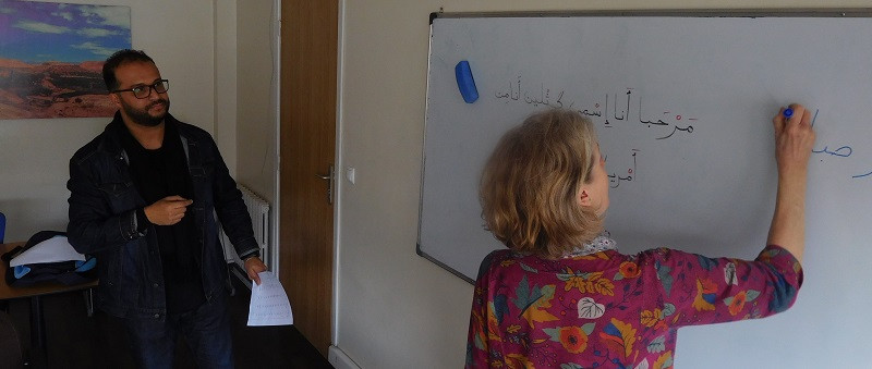 Students can learn Arabic with a scholarship