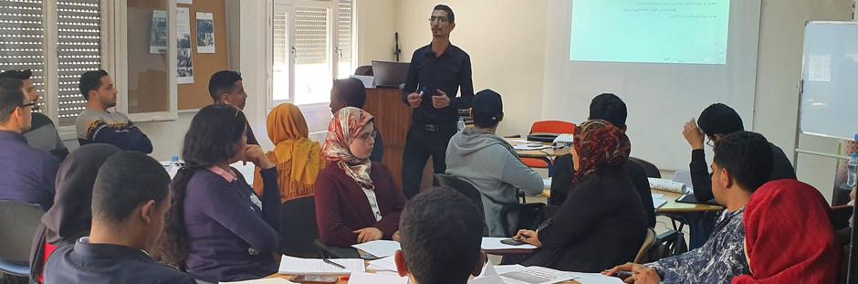 الدورة السادسة لتكوين أساتذة العربية للناطقين بغيرها