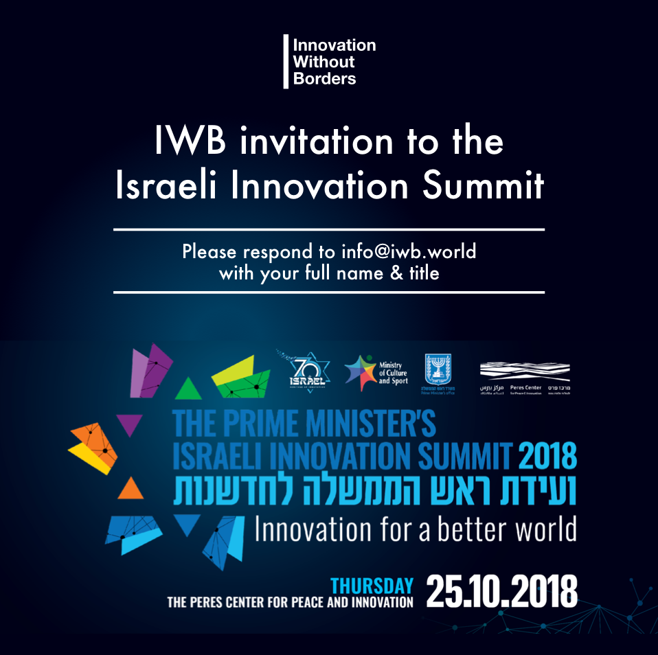 25.10.18 - Innovation prime minister eve
