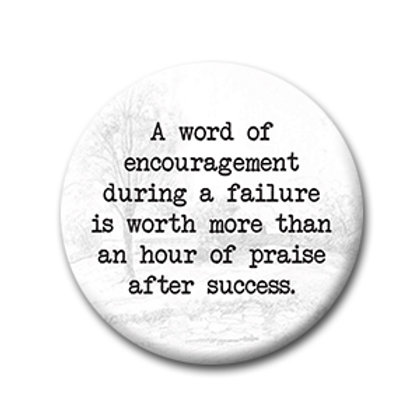 A Word of Encouragement