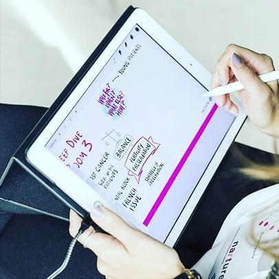 Digital scribing in Lugano, Switzerland