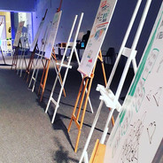 Scribing event in Abu Dhabi, working for Mckinsey and company