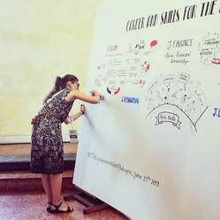 Scribing event in Bologna