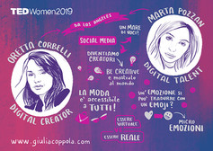 Live Graphic Recording during a TEDx Talk.