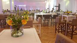 Evento VIP Montaje y centros de mesa