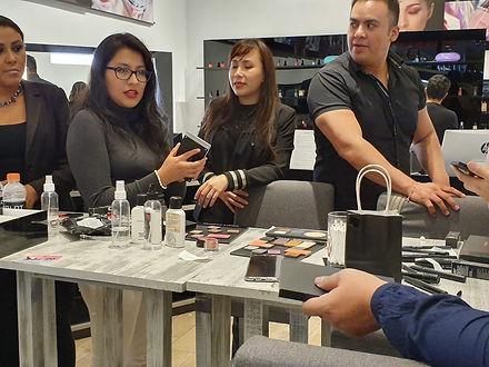 Taller de maquillaje workshop evento