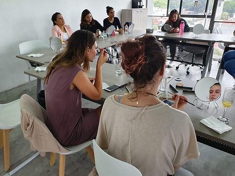 maquillaje social empresarial curso de maquillaje taller masterclass work shop