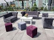 Salas lounge vintage, renta de mobiliario, periqueras, vintage, lounge