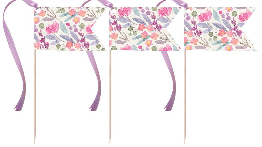 Wildflower Pennants
