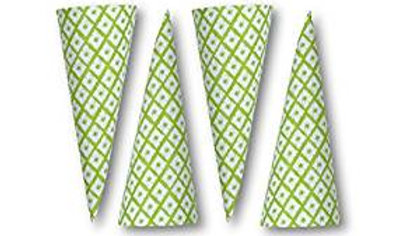 Lime Party Cones