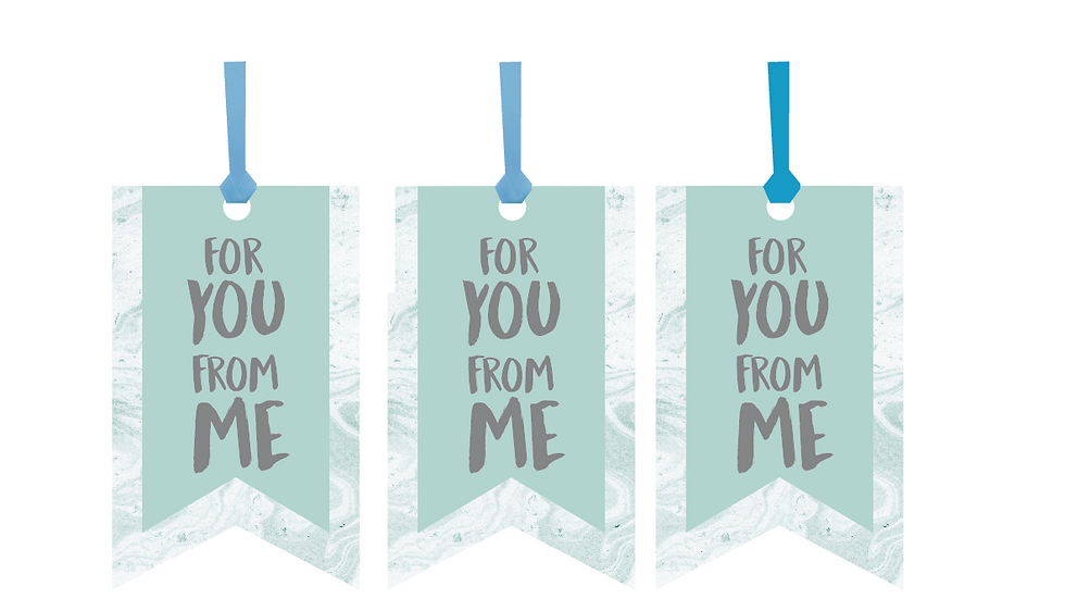 For You, From Me Gift Tags