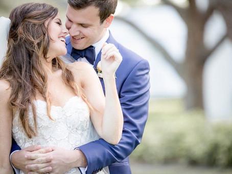 WEDDING LOVE: PALM BEACH STYLE, MOLLY + BEN