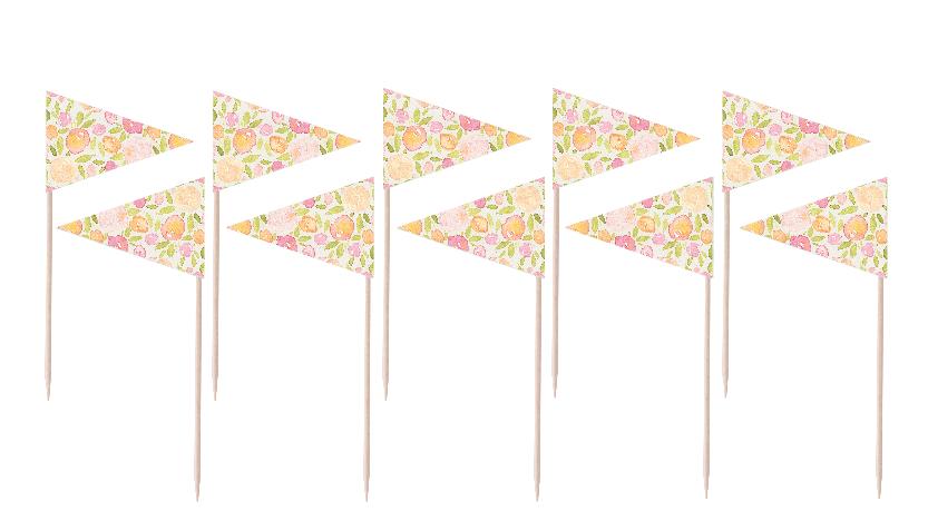 Peachy Flag Party Picks