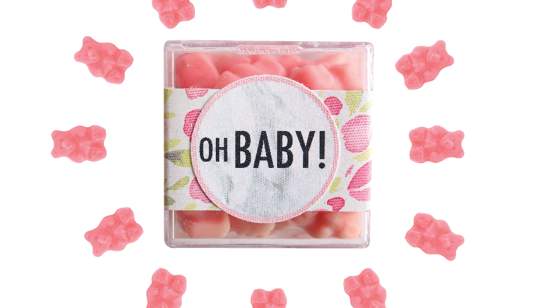 Oh Baby Confection Cube