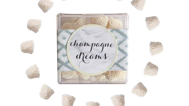 Champagne Dreams Confection Cube