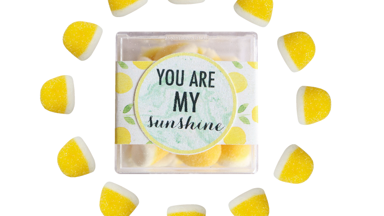 My Sunshine Confection Cube