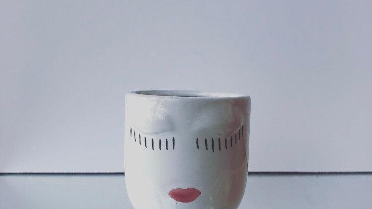 Mini Face Vase