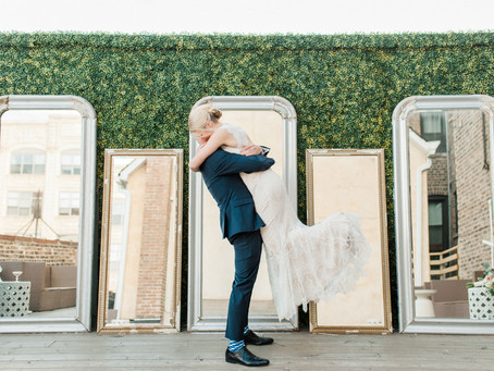 LOVE IN THE LOFT: LINDSEY + BRIAN