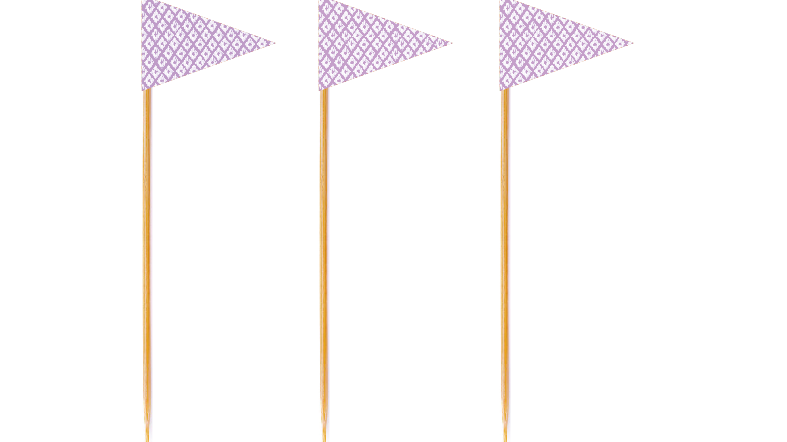 Lavender Tall Toppers