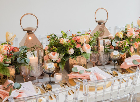 FALL TABLE: AUTUMN + APRICOT