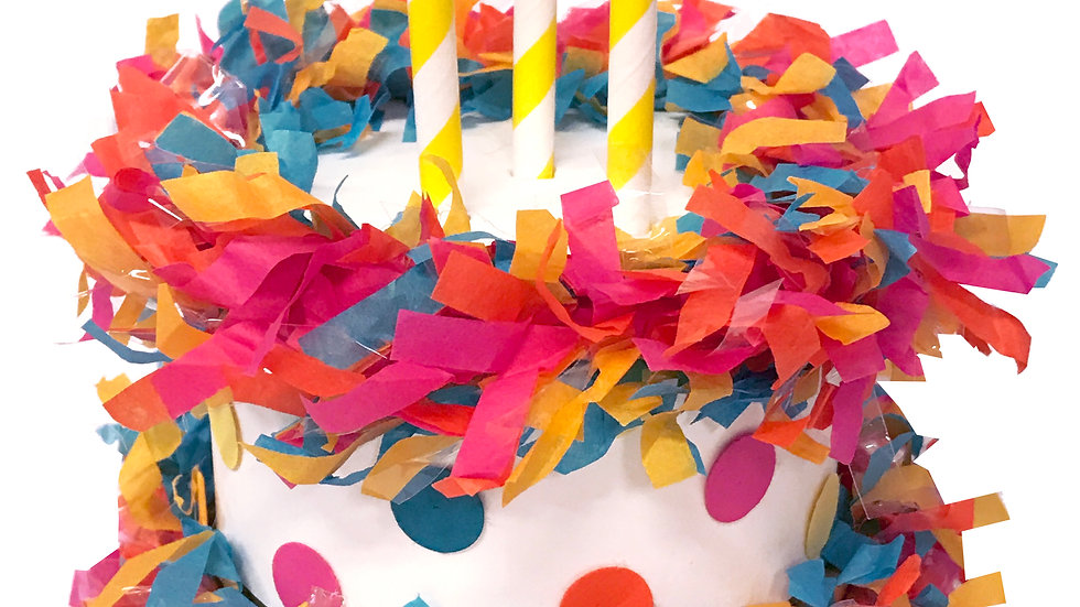 Birthday Cake Piñata Surprize