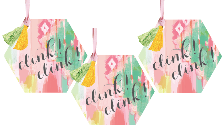Clink Clink Wine Tags